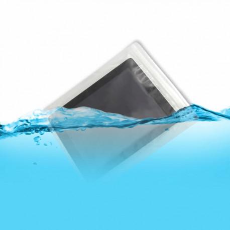 A l'aide de ce set de deux sacs étanches pour tablette, votre iPad sera protégé de l'eau, du sable ou de la neige ! Le cadeau indispensable à tous les geeks...
