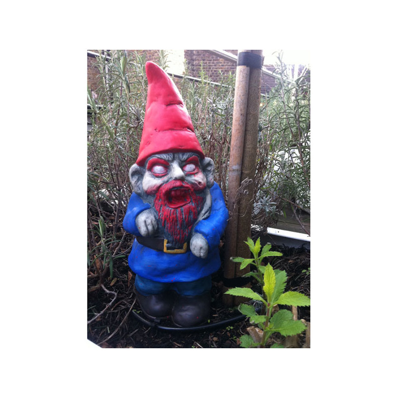 Nain de Jardin Zombie : Achat Cadeau Halloween Insolite ...