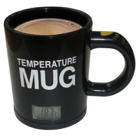 Mug permettant de savoir la température de votre boisson