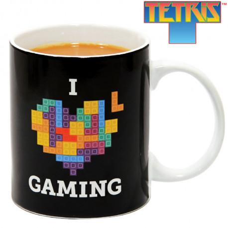 Le Mug Tetris I Love Gaming... une tasse geek en céramique du célèbre jeu !