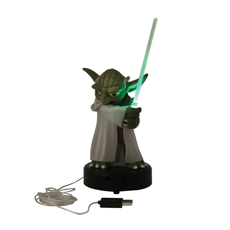 lampe usb yoda star wars achat cadeau geek star wars. Black Bedroom Furniture Sets. Home Design Ideas