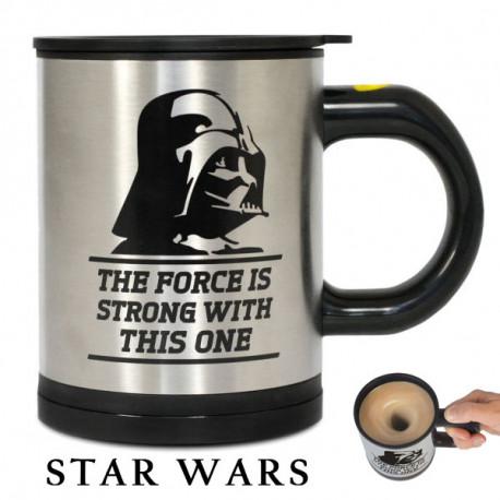 Avec le mug mélangeur Star Wars, utilisez la force (obscure) pour mélanger votre café ! Ce gadget à la fois pratique et insolite va vite se rendre indispensable...