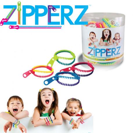 un bracelet fermeture eclair zipperz tendance et flashy