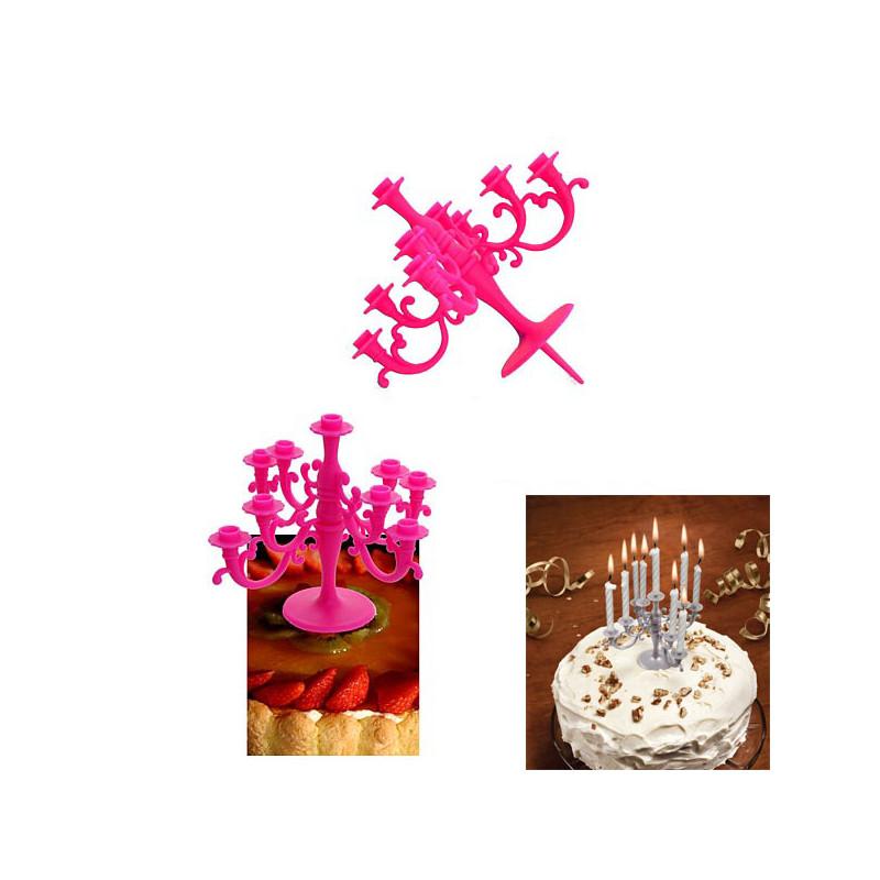 chandelier pour bougies d 39 anniversaire achat cadeau. Black Bedroom Furniture Sets. Home Design Ideas