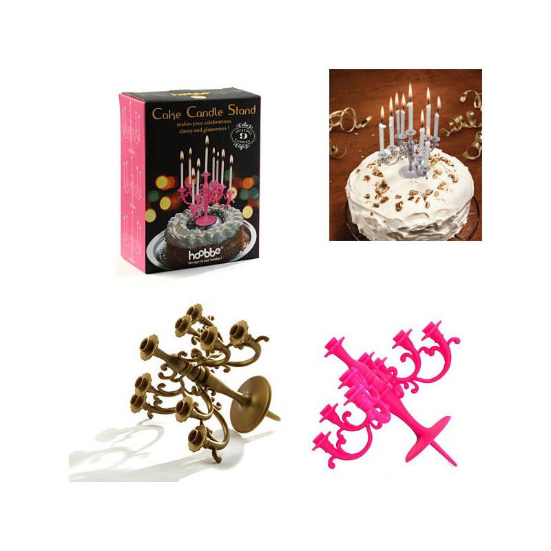 chandelier pour bougies d 39 anniversaire achat cadeau anniversaire glamour rapid cadeau. Black Bedroom Furniture Sets. Home Design Ideas