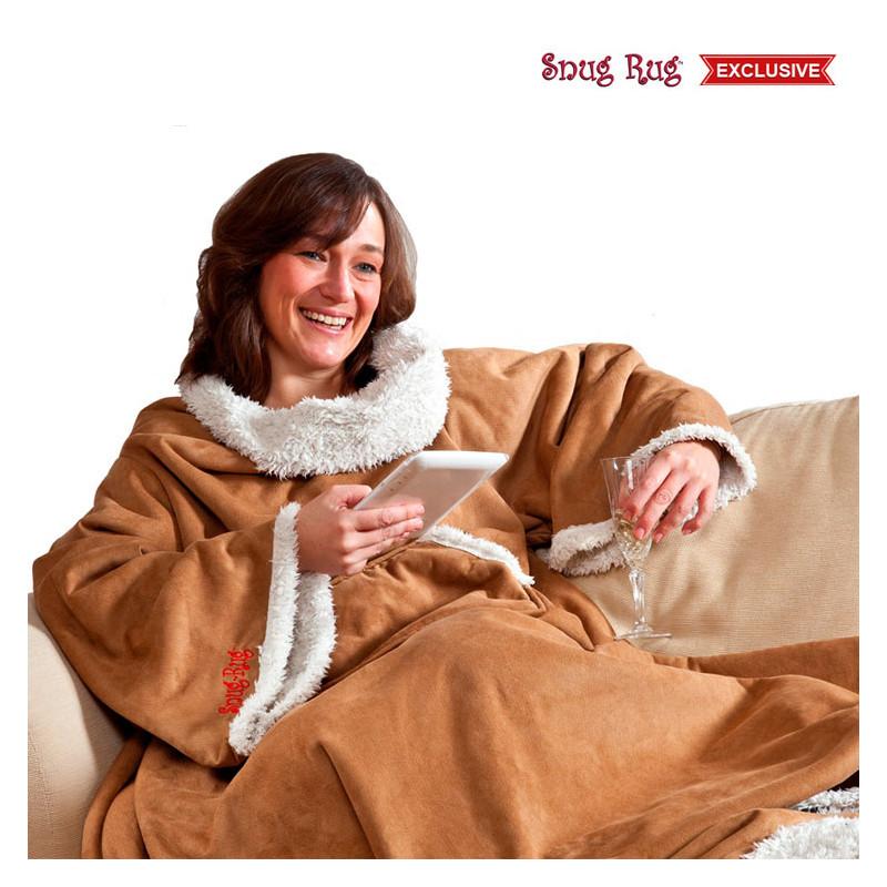 snug rug sherpa,la couverture polaire