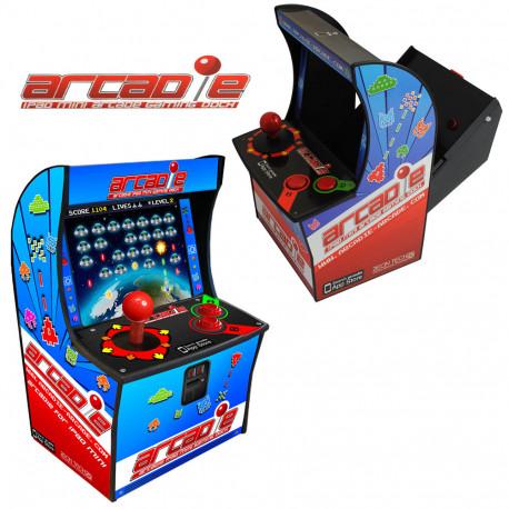 Transformez votre iPad Mini en véritable borne d'arcade ! Retrouvez vos sensations de jeux d'antan avec cette borne d'arcade pour votre tablette favorite... So geek et so nostalgique !