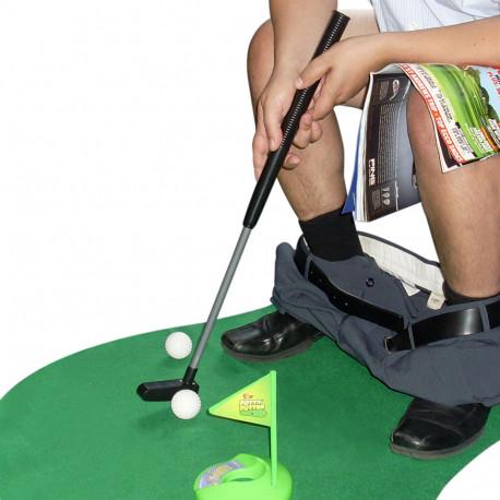 Profitez de la solitude et du silence du lieu pour vous entraîner au golf... Epatez votre entourage avec un swing remarquable ! Ce jeu insolite et décalé plaira à tous les golfeurs en herbe ou confirmé !