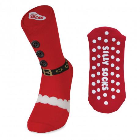 Les pieds au chaud avec une pointe humoristique avec ces chaussettes de Noël sympathiques, insolites et rigolotes !