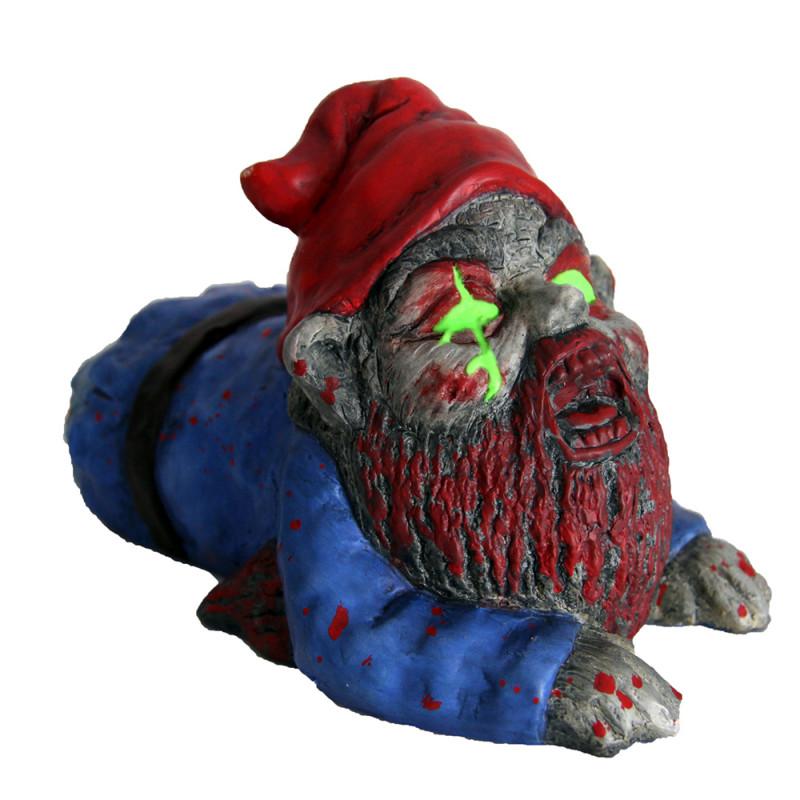 Nain de Jardin Zombie Rampant : Achat Cadeau Halloween sur Rapid ...