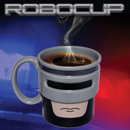 Le mug RoboCup fait un clin d'œil aux films d'action et de science-fiction RoboCop ! Entièrement en céramique, ce mug so geek fera des envieux ! Buvez votre café en vous prenant pour un super-héros...