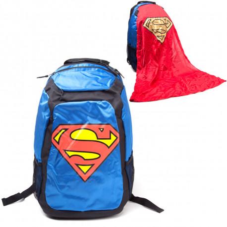 Le sac à dos Superman, le nouvel héros des cours de lycées ! Cet objet geek sous licence officielle, avec cape intégrée, va rendre le chemin de l'école ou du sport ludique ! Rappelez-vous : vous êtes un Superman du quotidien !