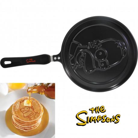 cette poêle à pancakes met à l'honneur homer simpson en l'imprimant sur vos pancakes