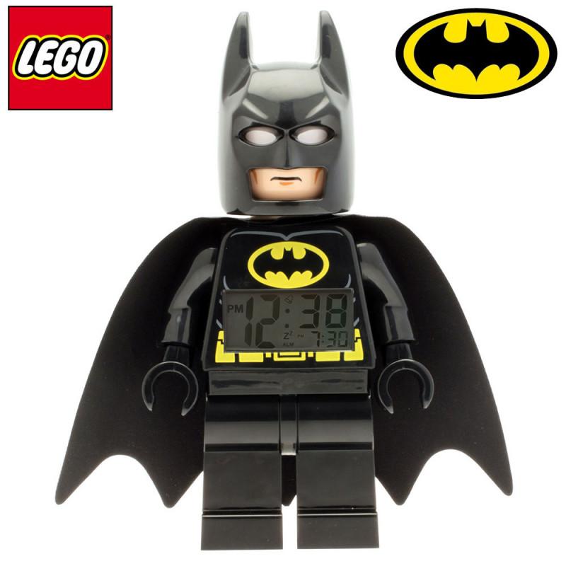 les marques lego & dc comics s'unissent pour créer ce réveil lego sous la forme de batman : so geek !