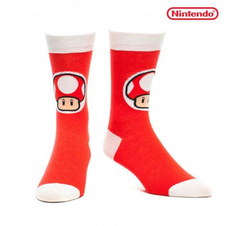 Chaussettes Nintendo Toad Champignon