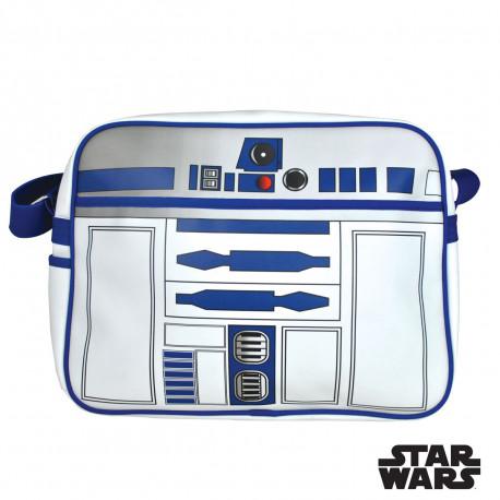cette sacoche à bandoulière r2-d2 est le cadeau idéal pour les fans de la saga star wars