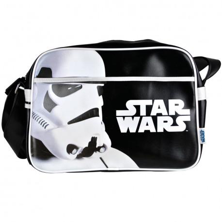 cette sacoche à bandoulière besace stormtrooper,sous licence officielle star wars,va plaire aux fashion-victim qui assument leur côté geek !