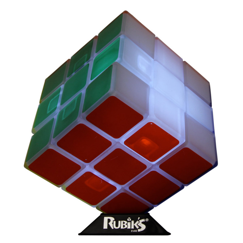 lampe rubik 39 s cube achat cadeau design tendance sur rapid. Black Bedroom Furniture Sets. Home Design Ideas