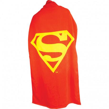 Serviette en forme de cape à l'effigie de Superman