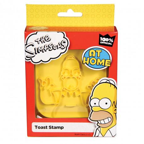 Un tampon toast Simpsons pour voir la vie en jaune... Pour une ambiance décontractée dès le petit matin, faites-vous plaisir avec ces toasts uniques et stylés qui vous ouvriront l'appétit sans nul doute ! So fun !