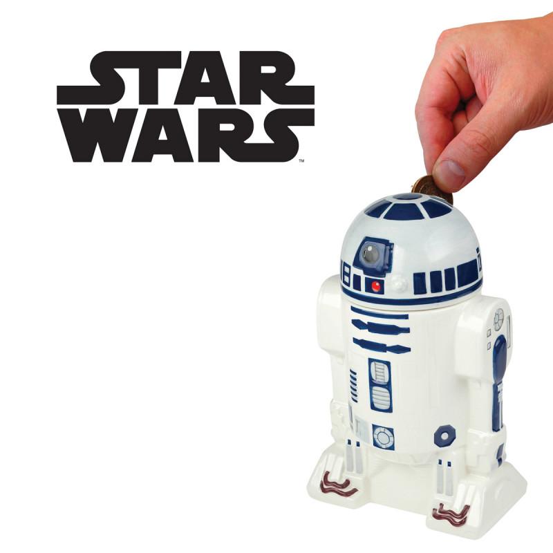 tirelire r2d2 star wars c ramique achat cadeau geek star wars sur rapid. Black Bedroom Furniture Sets. Home Design Ideas