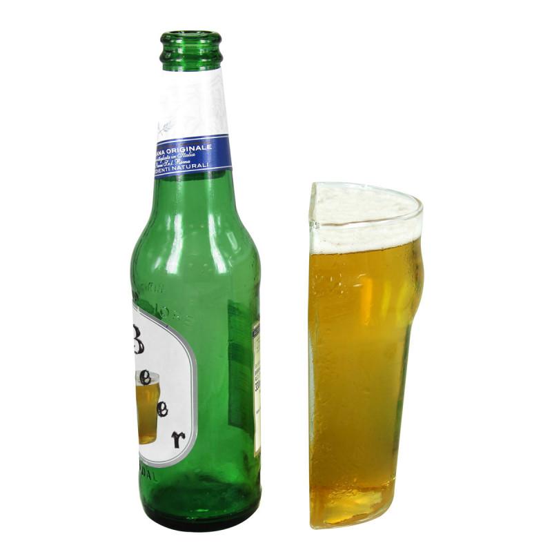 Verre bi re demi pinte achat cadeau bi re sur rapid - Verre a biere original ...