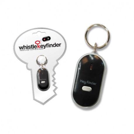 Ne perdez plus de temps à chercher vos clés et offrez-vous ce gadget totalement indispensable... A l'aide de ce porte-clés siffleur, il vous suffira de siffler pour localiser votre trousseau de clés ! Le cadeau idéal pour ceux qui égarent leurs clés régulièrement !