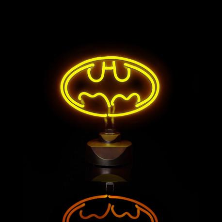 une lampe néon batman : un cadeau geek et design pour les fans de comics