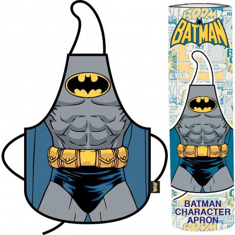 Un tablier Batman so geek... pour préparer de bons petits plats, tout en assumant son côté viril ! Voici une idée cadeau originale et insolite à offrir à vos hommes... pour qu'ils passent un peu plus de temps derrière les fourneaux !