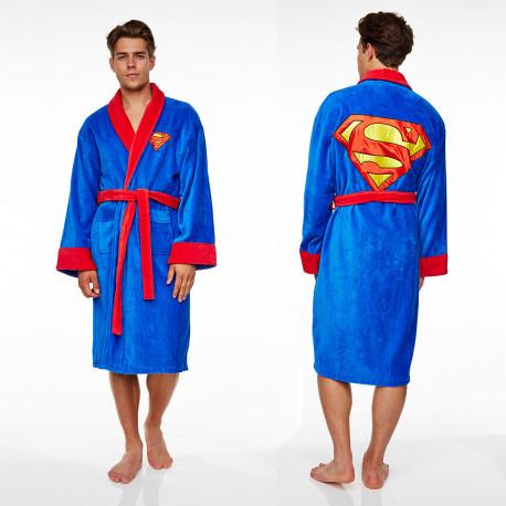 le peignoir superman,un cadeau super-héros pour les inconditionnels de superman et les fans geeks et fashion