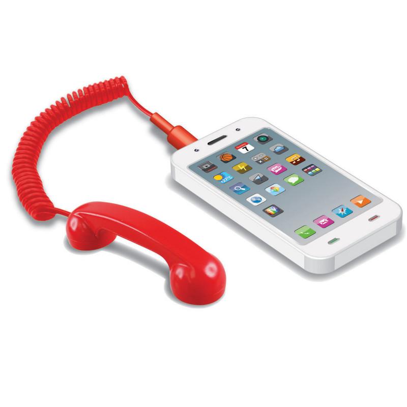 le mini combiné rétro,un gadget pour smartphone et tablette tactile,très utile