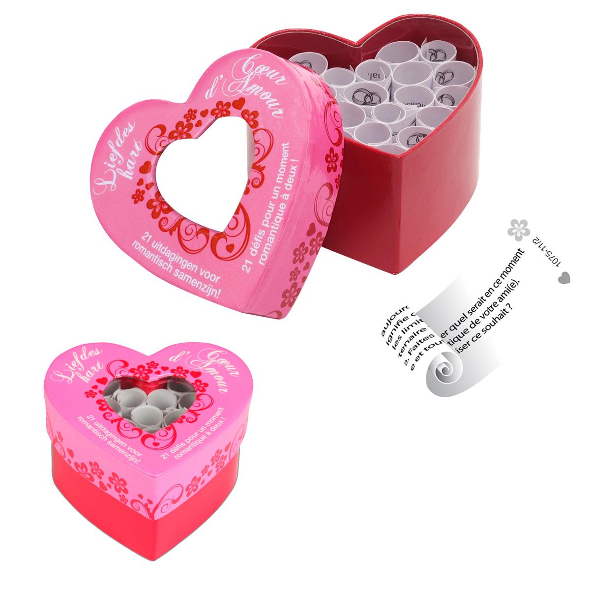 jeu c ur d 39 amour achat cadeau romantique saint valentin sur rapid. Black Bedroom Furniture Sets. Home Design Ideas