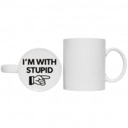 Mug I'm With Stupid