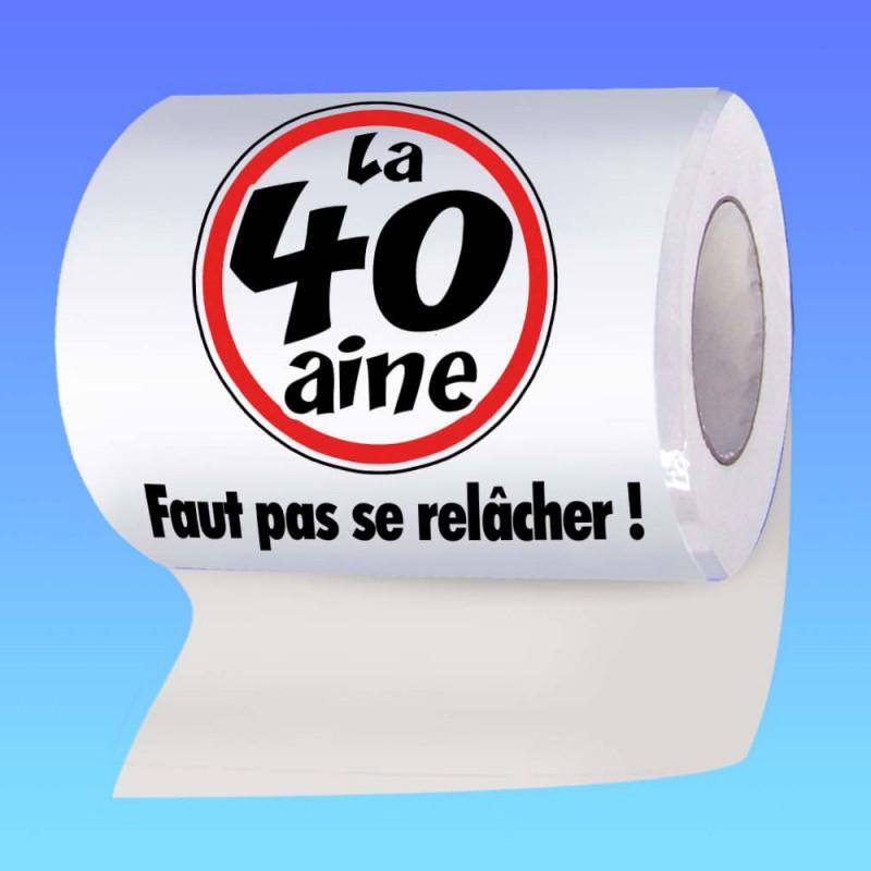 Papier Toilette Anniversaire Humoristique Achat Gadget