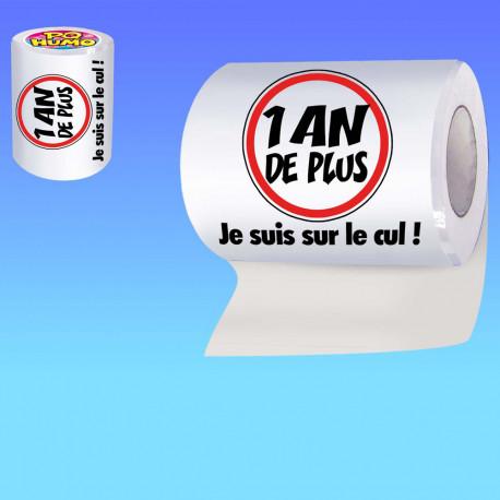 le papier toilette anniversaire humoristique,un gadget anniversaire insolite et fun