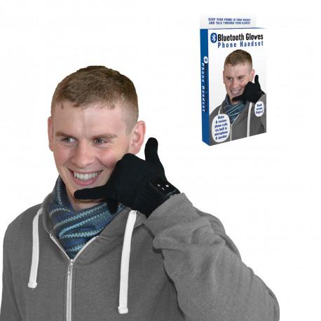Gardez vos mains au chaud et répondez à vos appels à partir de vos gants Bluetooth ! Le principe est simple : le téléphone au bout des doigts et vos mimines bien au chaud ! Un gadget à offrir so high-tech !