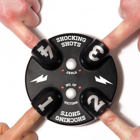Ce jeu à boire insolite s'adresse aux fêtards qui veulent pimenter leurs soirées et aux amateurs de sensations fortes (électriques) ! Facile à jouer, le jeu Shocking Shots est le cadeau parfait pour une soirée entre potes… électrique !