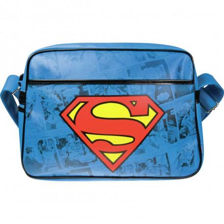 la sacoche à bandoulière superman comics est le cadeau idéal à offrir aux inconditionnels du super-héros