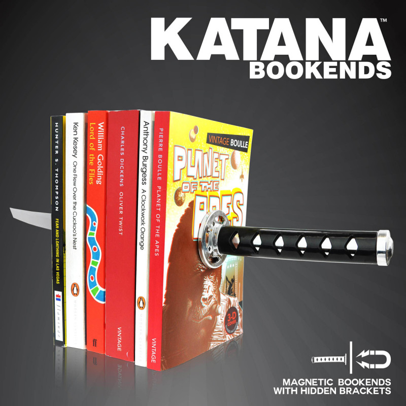 serre livres katana achat cadeau d co insolite sur rapid. Black Bedroom Furniture Sets. Home Design Ideas