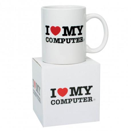 mug i love my computer original et geek