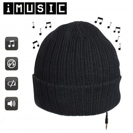 Un bonnet qui permet d'écouter de la musique