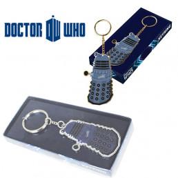 Porte-Clés Métal Dalek Plat Dr Who