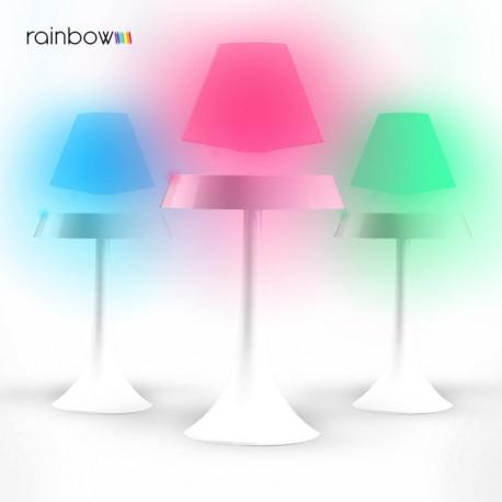 Offrez ce cadeau crémaillère ou anniversaire qui fera à coup sûr un heureux ! Alliant design épuré, spectacle magique et luminosité multicolore à effet arc-en-ciel, cette lampe anti-gravité rainbow apportera toute son originalité dans la maison du destinataire !