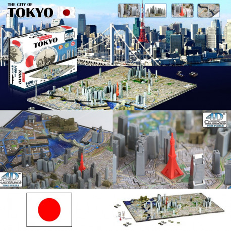 Puzzle 4D Tokyo 1400 Pièces