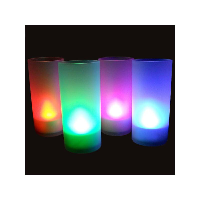 bougie photophore led multicolore achat cadeau lumineux d co sur rapid. Black Bedroom Furniture Sets. Home Design Ideas