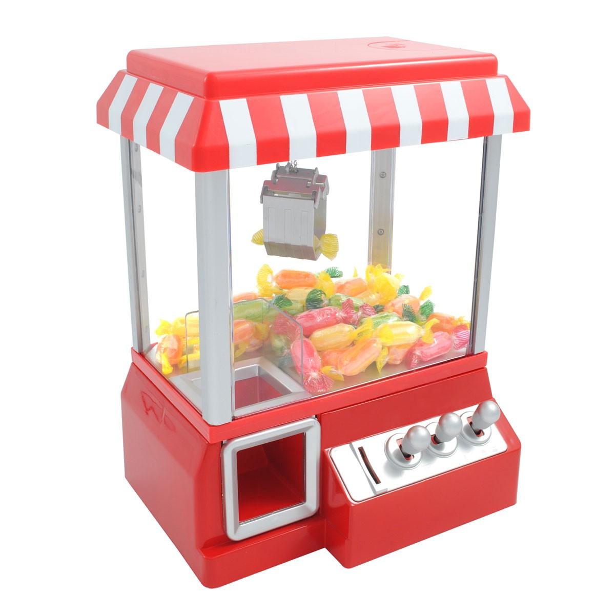 Machine attrape bonbons pour tous les amateurs de jeu de f te foraine gourma - Distributeur de bonbon ancien ...