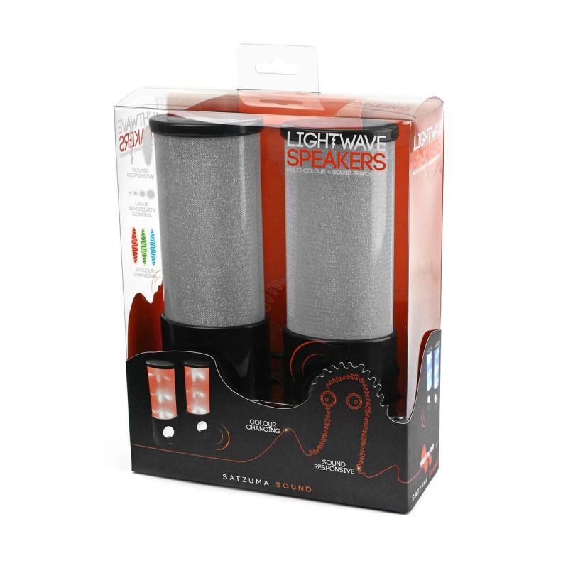 haut parleurs usb ondes lumineuses achat cadeau design bureau sur rapid. Black Bedroom Furniture Sets. Home Design Ideas