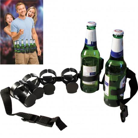 Adoptez ce gadget rigolo qui va faire parler de lui ! En effet, ne soyez jamais à court de boissons avec cette ceinture à bières originale… Les amateurs de bières et de gadgets en tout genre vont l'adorer…
