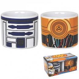 Coquetiers Star Wars R2D2 et C3PO