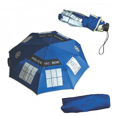 un parapluie à l'honneur du docteur who